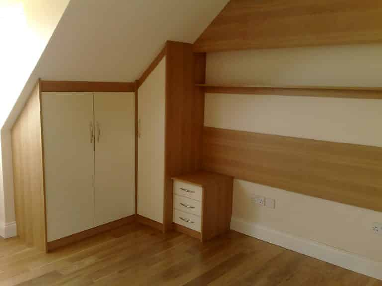 Sloping Ceiling Wardrobe